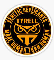 TYRELL CORPORATION - BLADE RUNNER (YELLOW) Sticker