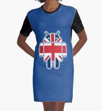 Britbot Graphic T-Shirt Dress