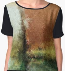 The Color of Nature Women's Chiffon Top