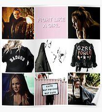 Sara Lance aesthetic Poster