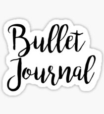 Bullet Journal Sticker