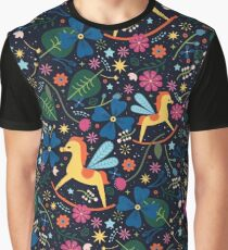 Rocking-Horse-Fly  Graphic T-Shirt