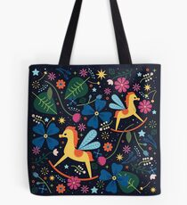 Rocking-Horse-Fly  Tote Bag