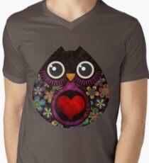 Owl's Hatch Men's V-Neck T-Shirt