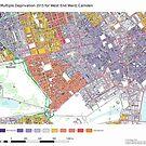 Multiple Deprivation West End ward, Camden by ianturton