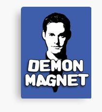 XANDER HARRIS: Demon Magnet Canvas Print