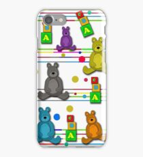 Toys pattern iPhone Case/Skin