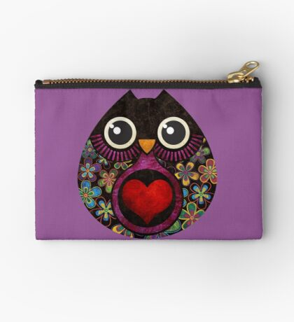 Owl's Hatch Zipper Pouch