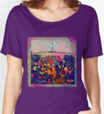 Abstract To Pimp A Butterfly Women's Relaxed Fit T-Shirt