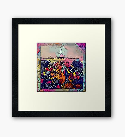Abstract To Pimp A Butterfly Framed Print