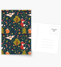 Dreamy forest Postcards