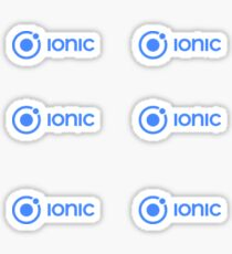 Ionic Sticker