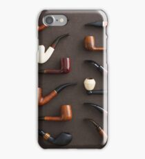 Collection of pipes iPhone Case/Skin