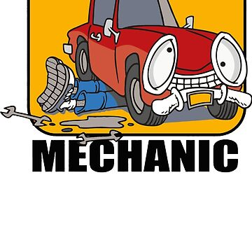 Trust Me I'm A Mechanic Funny by fabayanart