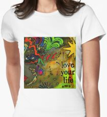 Wise Women-MASK I Womens Fitted T-Shirt