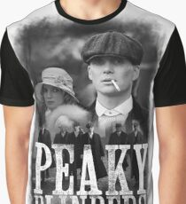 peaky blinders TV series cinema Cillian Murphy козырьки Graphic T-Shirt