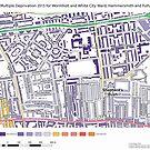 Multiple Deprivation Wormholt & White City ward, Hammersmith & Fulham by ianturton