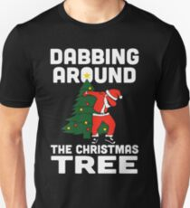 Dabbing Around The Christmas Tree T-Shirt