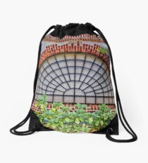 Covered by a grate Drawstring Bag