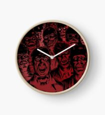 Old Monsters Clock
