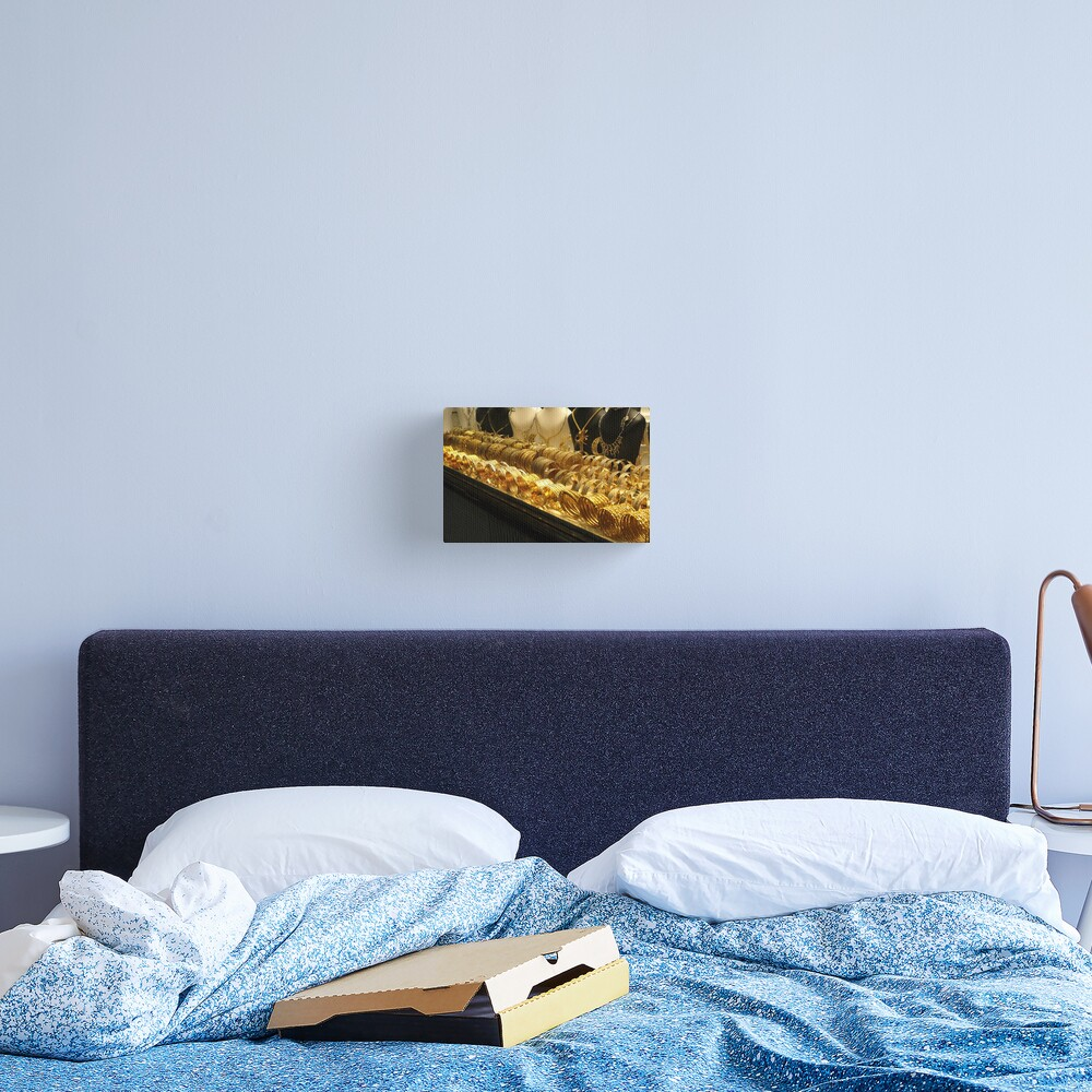 Gold, gold, gold! Canvas Print