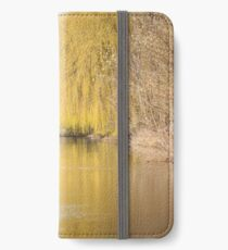 Willow on the Canal iPhone Wallet/Case/Skin