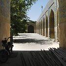 Masjed-e Shah restoration - arrived for work by Marjolein Katsma