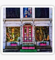 Flower Shop Facade Sticker