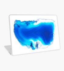 Blue Gemstone Laptop Skin