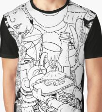 Mind  Wandering in the Cafe Graphic T-Shirt