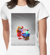 Christmas Women's Fitted T-Shirt