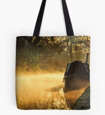 Narrowboats, Mist and Smoke Tote Bag