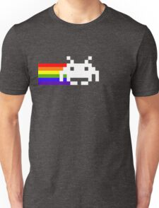 Retro Rainbow Invader T-shirt