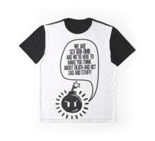 To get sad and stuff Graphic T-Shirt