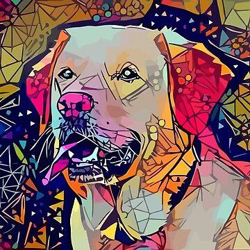 Abstrakter Hund von stilldan97