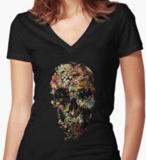Smyrna-Schädel Shirt mit V-Ausschnitt