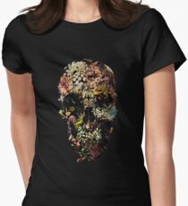 Smyrna Skull Women's Fitted T-Shirt