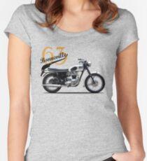 Bonneville T120 1963 Women's Fitted Scoop T-Shirt