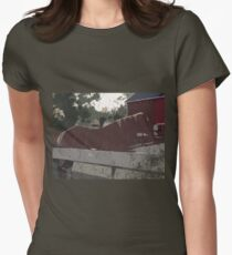Horse Fence Women's Fitted T-Shirt
