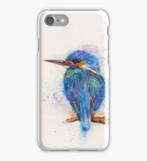 Kingfisher Watercolour iPhone Case/Skin