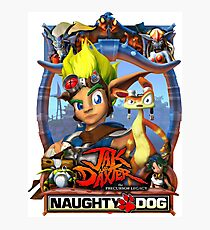 Jak & Daxter - Promo Poster Photographic Print