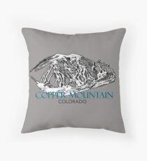 Copper Mountain Colorado Sky Resort  Throw Pillow