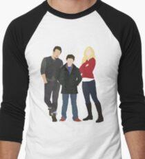 Swanfire Family Men's Baseball ¾ T-Shirt