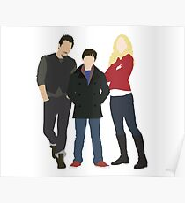 Swanfire Family Poster