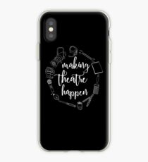 Making Theatre Happen - Technisches Theater iPhone-Hülle & Cover