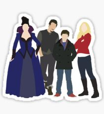 Swanfire Queen Family Sticker