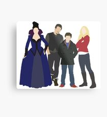 Swanfire Queen Family Metal Print