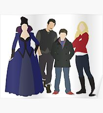 Swanfire Queen Family Poster