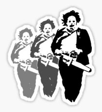 leatherfaces Sticker