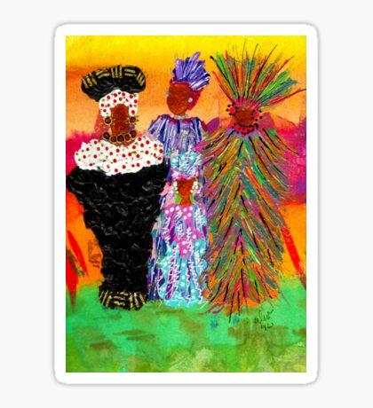 We Women Folk Sticker